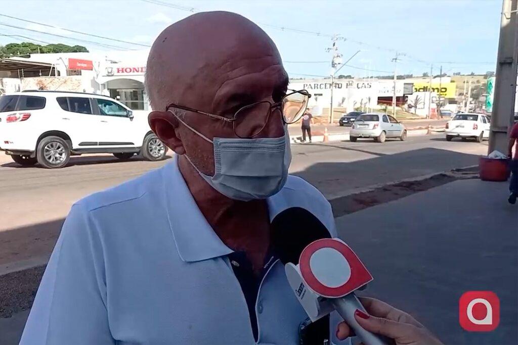 Empresários reclamam de lentidão em obras na Avenida Tiradentes