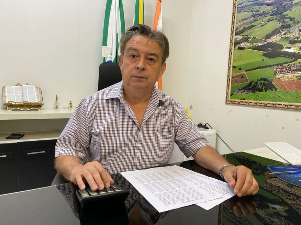 Prefeito Luiz Sorvos positiva para Covid no intervalo entre doses da vacina