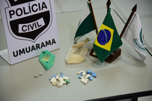 Suspeito de tráfico de drogas é preso pela Polícia Civil no Sonho Meu
