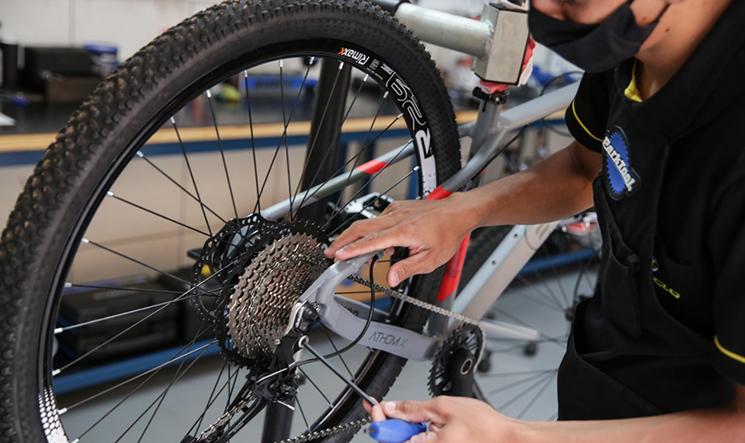 Via Ciclo oferece mão de obra especializada no conserto de bikes diversas