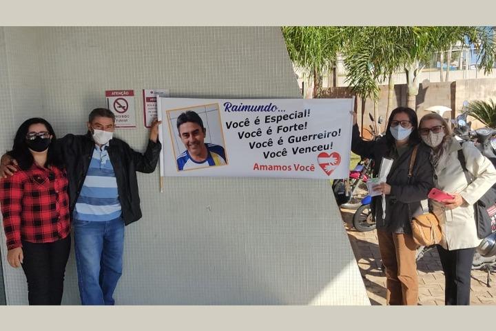 Morador de Umuarama vence o câncer e família comemora alta médica
