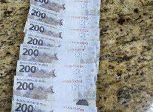 Homens são presos tentando pagar pedágio com cédulas falsas de R$ 200