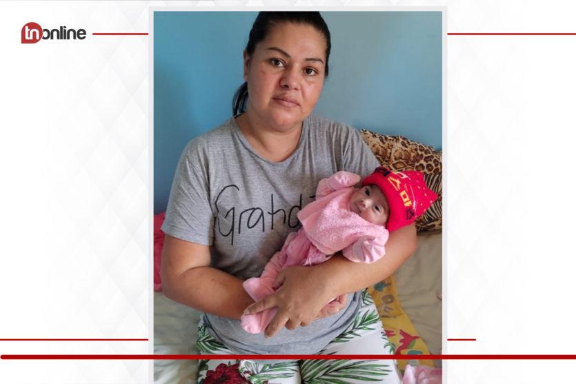 Gestante com Covid faz parto emergencial e após alta comemora com a filha