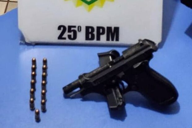 Briga em bar na avenida Rio Grande do Norte termina com apreensão de uma arma