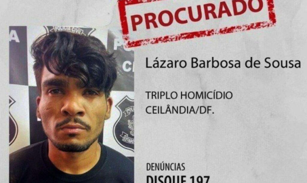 Fake news indica que Lázaro Barbosa estaria refugiado em Xambrê