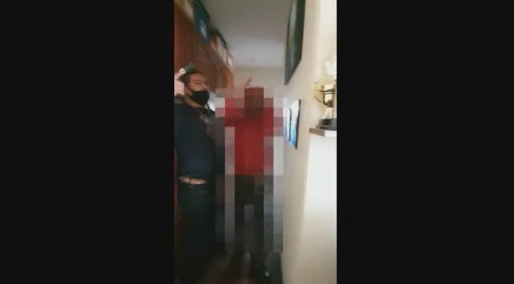 Vídeo: policiais do Nucria prendem homem acusado de estuprar menina de 11 anos