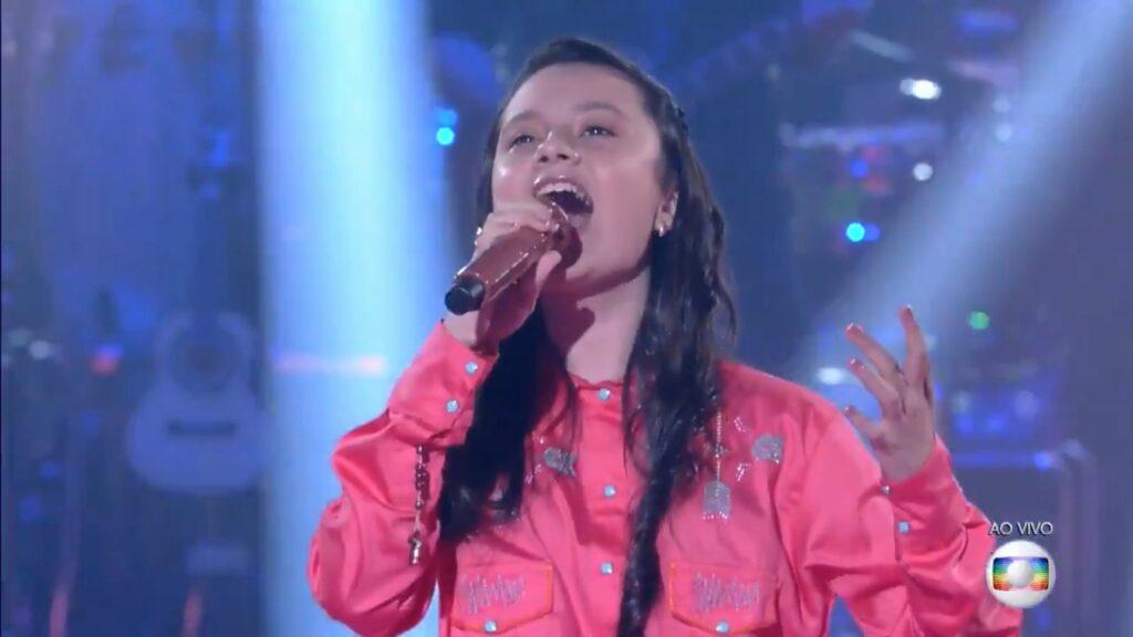 De Alto Piquiri para o Brasil: Maria Victoria está na final do The Voice Kids