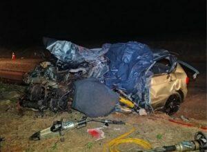 Homem morre em colisão frontal na PR-585 na noite de domingo