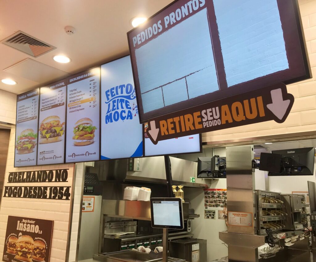 Burger King inaugura nesta terça-feira no Shopping Palladium Umuarama