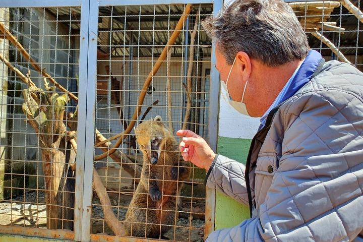 Marcio Nunes inaugura novos centros de atendimento a animais silvestres