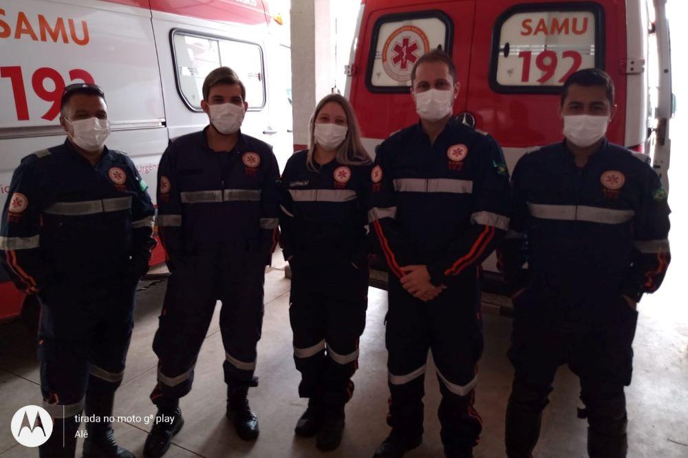 Umuarama: Samu reverte parada cardiorrespiratória em mulher de 78 anos